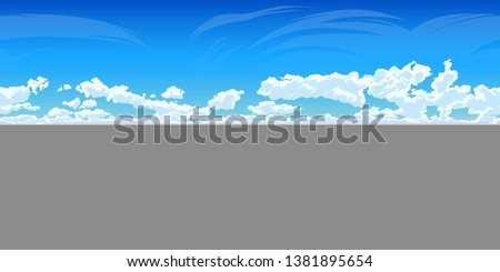 vector cloudy sky   360