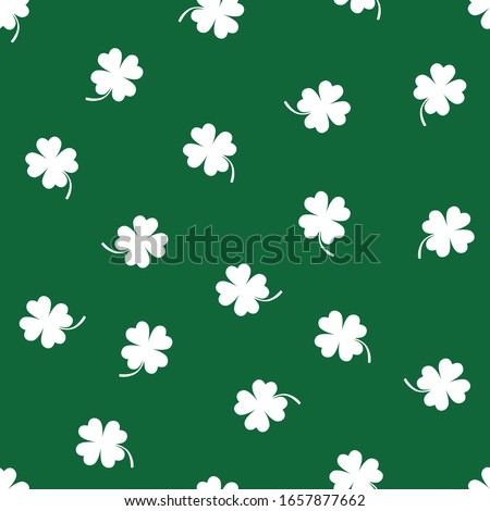 vector clover seamless pattern