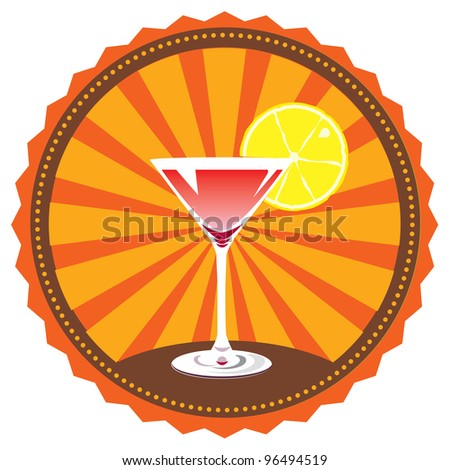 vector cocktail