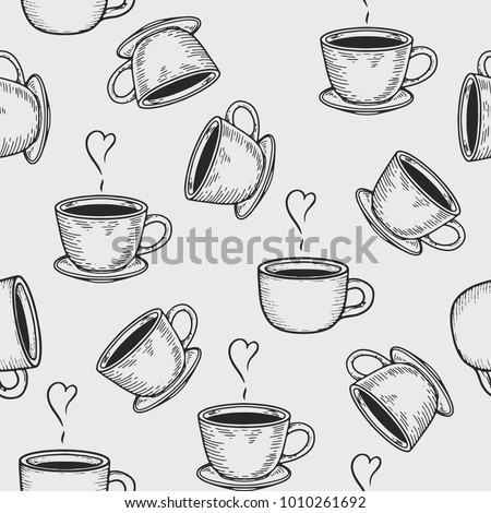 vector coffe cup or tea cup