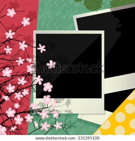 Frame Collage Vector Vector Collage Conceptual