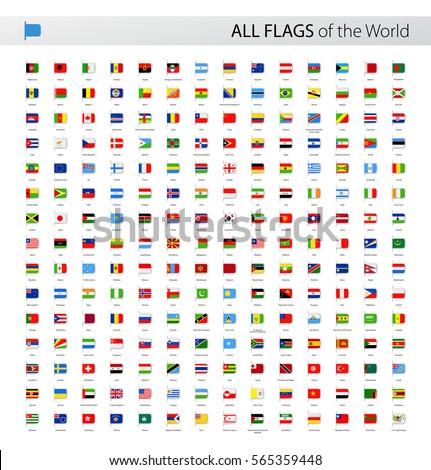 vector collection of all world