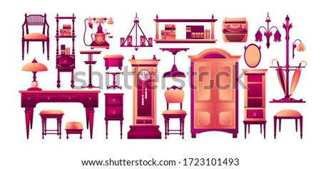 vector collection of antique