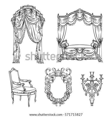 vector collection of baroque