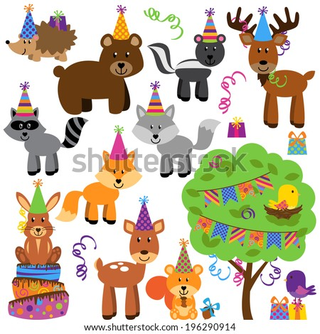 vector collection of birthday