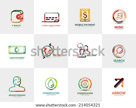 vector collection of 12 company