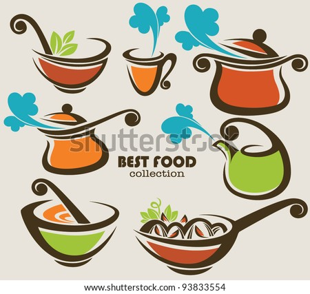 vector collection of cooking