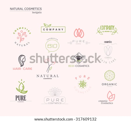 vector collection of cosmetics