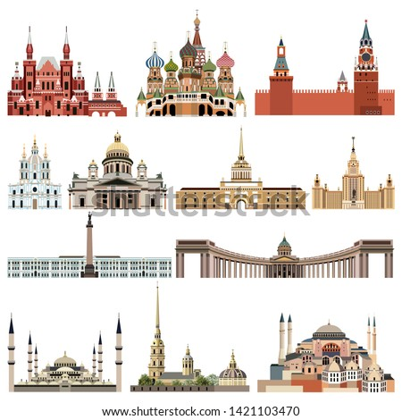 vector collection of detailed