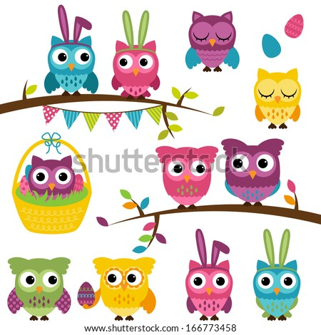 vector collection of easter and