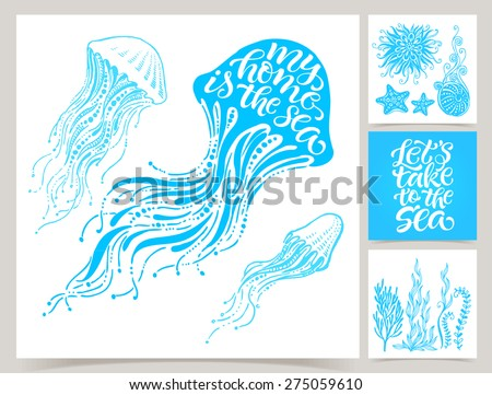 vector collection of four
