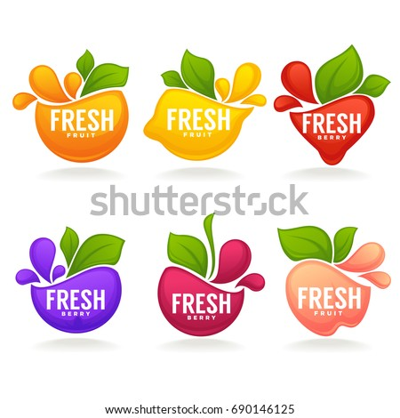 vector collection of fresh