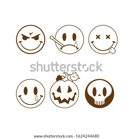 vector collection of halloween