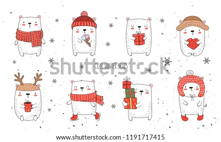 8e4f06d5a1d8 Vector Bear With Clothes - Download Free Vector Art