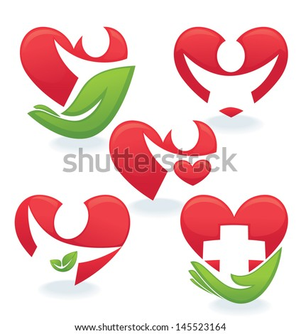 vector collection of love