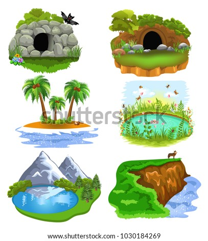 vector collection of nature