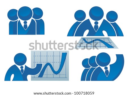vector collection of success, office workers and business team