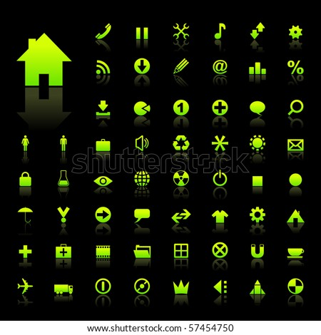 Vector collection of web icons