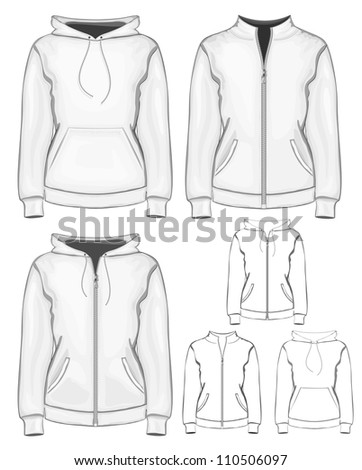 vector collection of women's