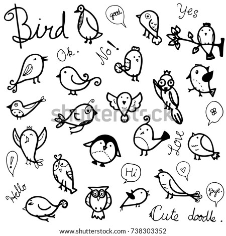vector collection set of cute