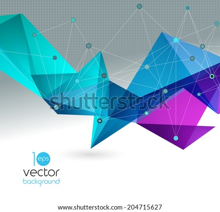 vector color abstract geometric