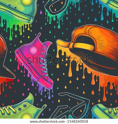 Vector Color Fashion Seamless Pattern