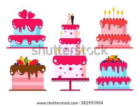 Happy Birthday Cake Download Free Vector Art Stock Graphics