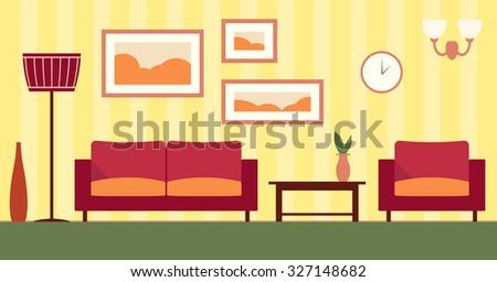 vector color interior of