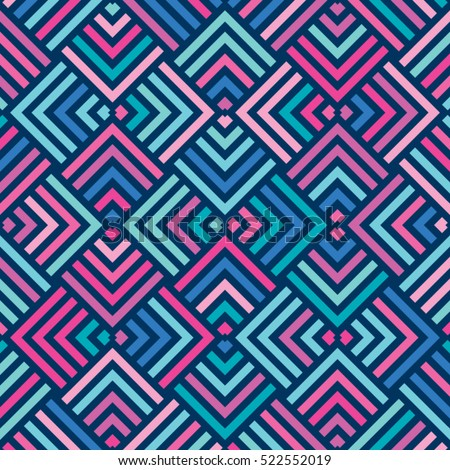 vector color pattern geometric
