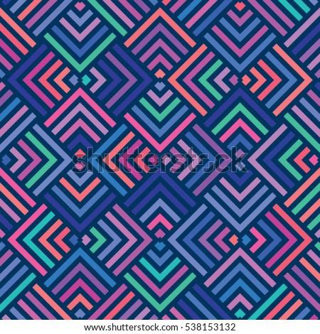 vector color pattern geometric