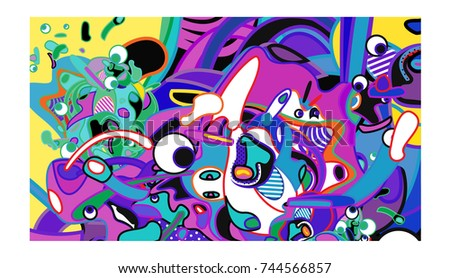 vector colorful abstract