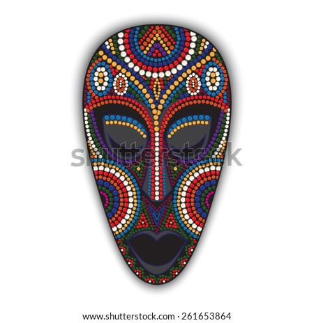 tribal mask clip art download free vector art stock graphics images
