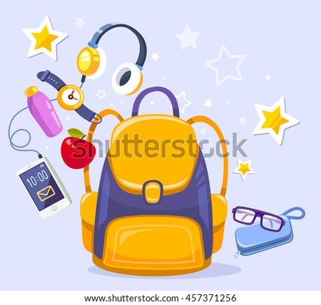 vector colorful illustration of