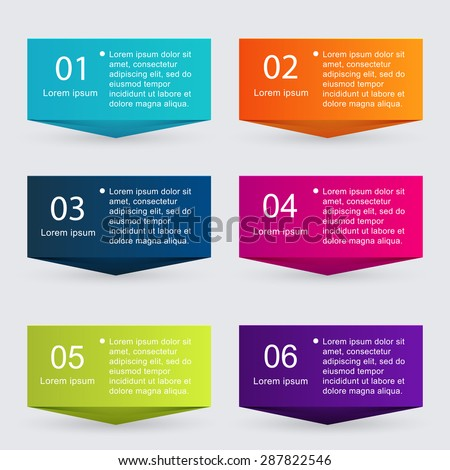 vector colorful info graphics