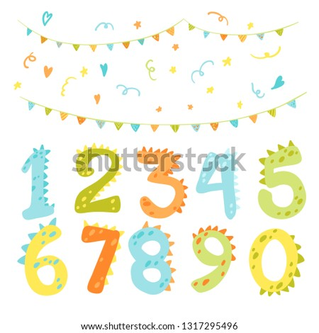 vector colorful set with