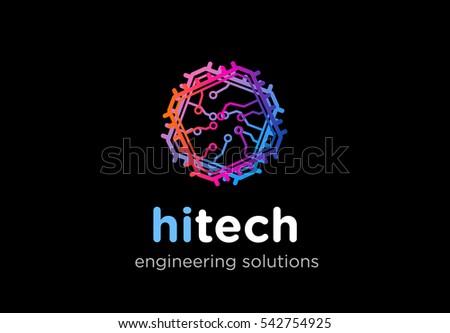 Vector Tech Logo Download Free Vector Art Stock Graphics Images