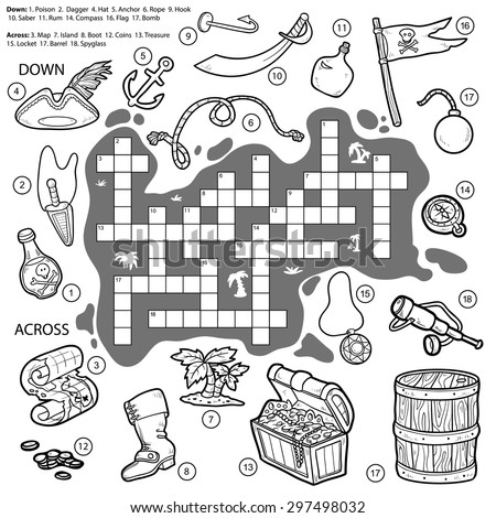 vector colorless crossword