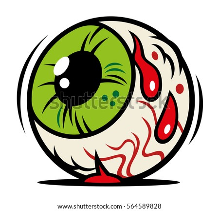 green cartoon eye download free vector art stock graphics images rh vecteezy com flying eyeball vector eyeball vector image