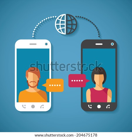 vector concept of world global