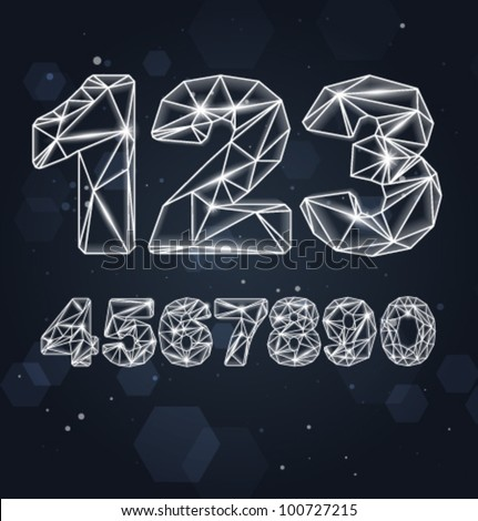 Vector Constellation Geometric Numbers