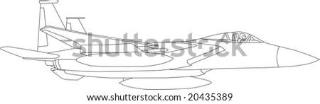 vector   contour aircraft
