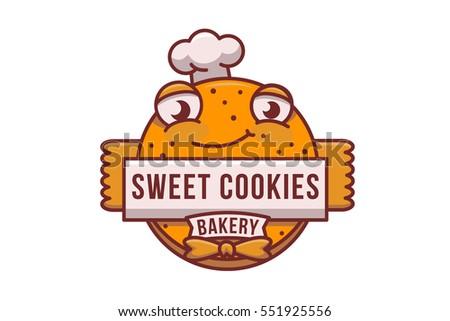 vector cookie logo cookies