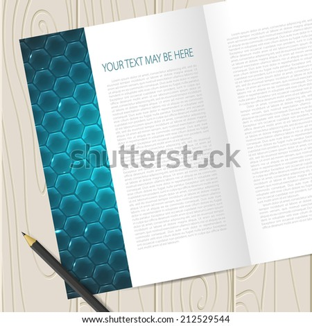 Vector corporate identity template. Business card, disc, document, tag. Eps10