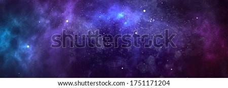 vector cosmic watercolor