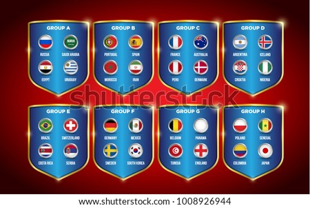 vector country flags in circles