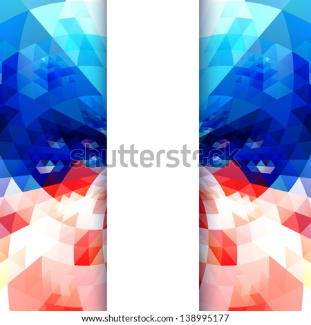vector creative american independence day background