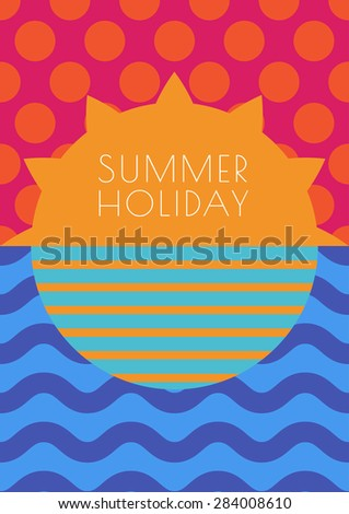 vector creative summer
