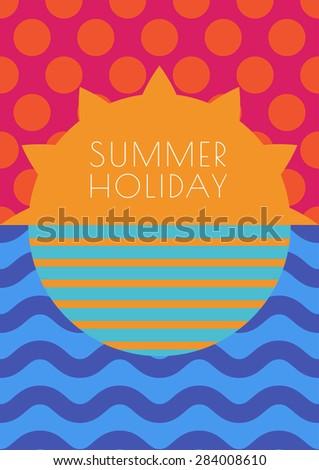 vector creative summer