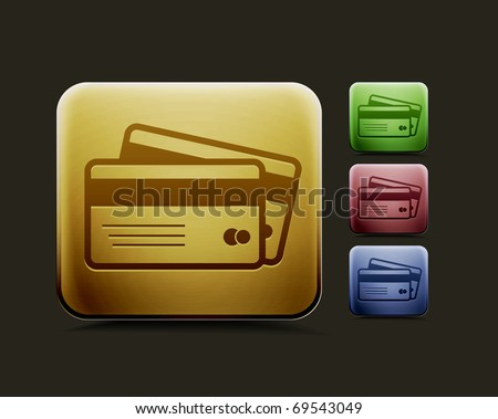 credit cards icon. credit cards icon set,
