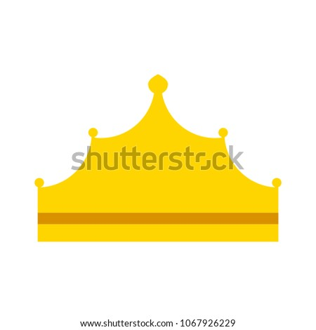 vector Crown king illustration, royal queen illustration isolated